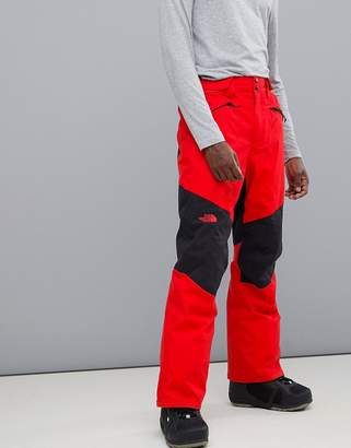 The North Face Presena Snow Pant in Red