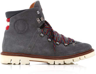 Bally Chack Suede Hiking Boots
