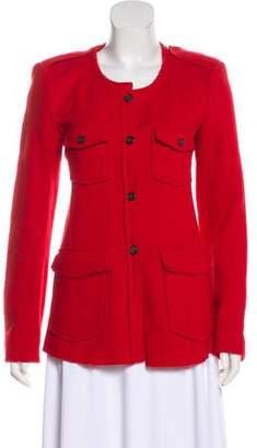Etoile Isabel Marant Wool-Blend Casual Jacket