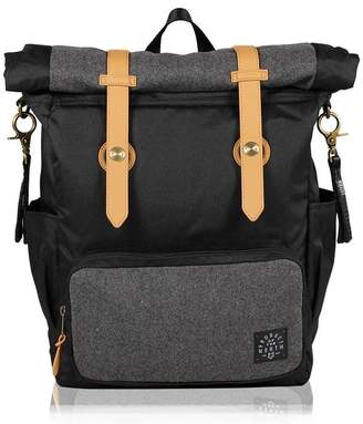 Baby Essentials Product Of The North PRODUCT OF THE NORTH BABY DIAPER BAG WESTIN ROLLDOWN BACKPACK BLACK