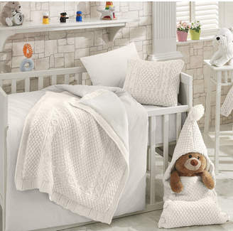 Greyleigh Coupland Wool Blended 6 Piece Crib Bedding Set