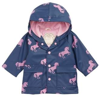 Hatley Horse Waterproof Hooded Raincoat