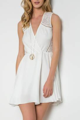 Urban Touch Crossover Skater Dress