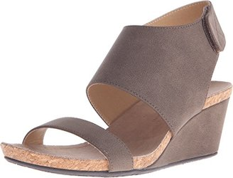 Adrienne Vittadini Footwear Women's Transe Wedge Sandal $39.99 thestylecure.com