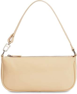 BY FAR RACHEL PATENT LEATHER BAG