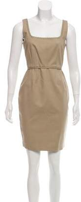 T Tahari Sleeveless Sheath Dress
