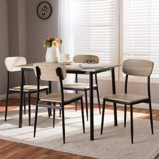 Millwood Pines Wiggs 5 Piece Dining Set