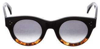 55555336bd9a5 Pre-Owned at TheRealReal · Celine Alia Round Sunglasses