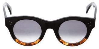 Celine Alia Round Sunglasses