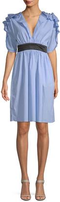 Manoush Ruffle A-Line Dress