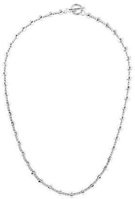18K Diamond Toggle Necklace