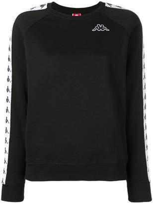 Kappa side logo stripe sweatshirt