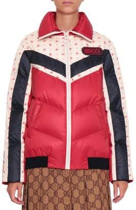 Gucci Colorblock Down Jacket