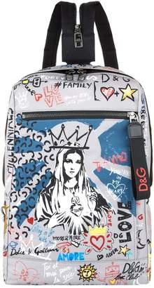 Dolce & Gabbana Madonna Mediterraneo Backpack