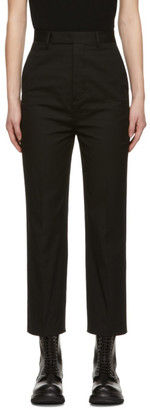 Rick Owens Black Bolans Trousers