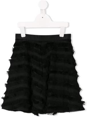 Señorita Lemoniez fringed skirt