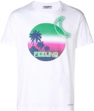 Valentino feelings graphic t-shirt