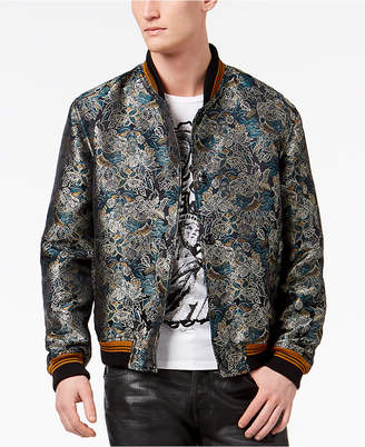 Just Cavalli Men's Savana Print Bomber Jacket