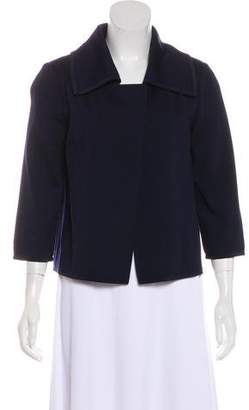 St. John Open Front Long Sleeve Jacket
