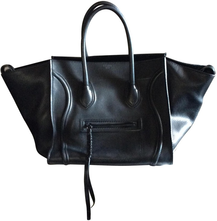 CelineLuggage Phantom leather handbag