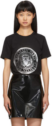 Balmain Black Coin T-Shirt