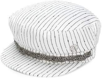 Maison Michel chain embellished hat
