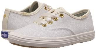 Kate Spade Keds Kids Keds for Champion Glitter Girl's Shoes