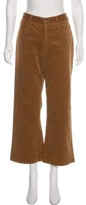 Jenni Kayne High-Rise Wide-Leg Corduroy Pants w/ Tags