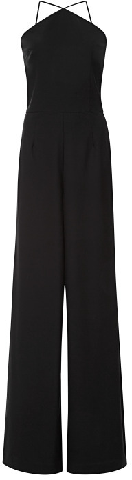 Peter Som Stretch Wool Suiting Jumpsuit