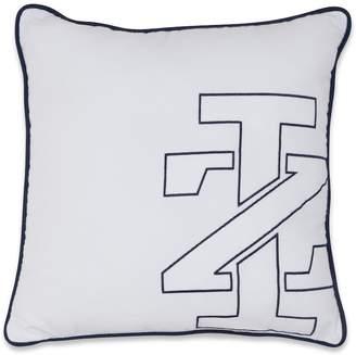 Izod Logo Square Throw Pillow
