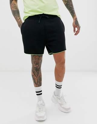 Urban Threads side stripe running shorts