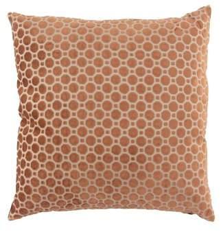 DecMode Decmode Modern 23 X 23 Inch Brown Throw Pillow