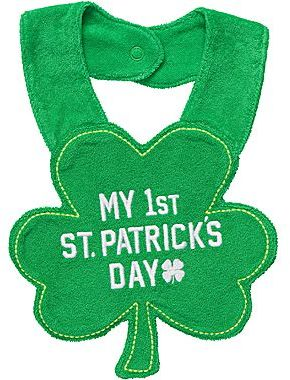 Carter's My First St. Patrick's Day Bib