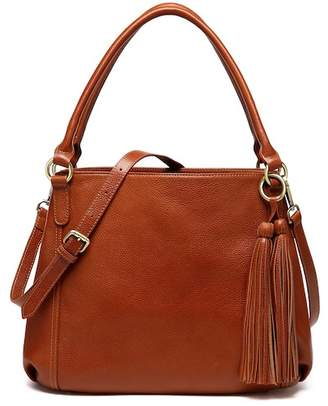 Vicenzo Leather Maddison Leather Shoulder Handbag