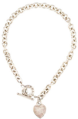 Tiffany & Co. Heart Tag Toggle Necklace $275 thestylecure.com
