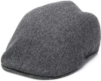 Brunello Cucinelli wool flat cap