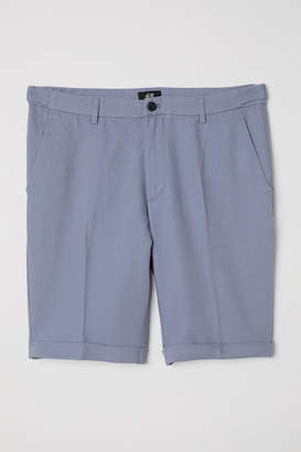H&M Chino Shorts Skinny Fit - Blue