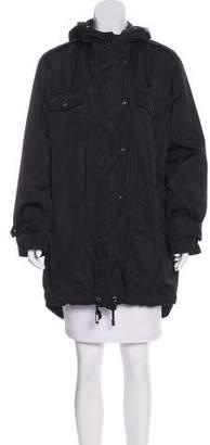 Sonia Rykiel Hooded Short Coat