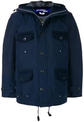 Junya Watanabe hooded jacket with front pockets