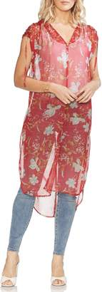 Vince Camuto Wildflower Shirttail Tunic