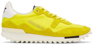Golden Goose Yellow Starland Sneakers