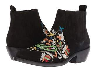 Etro Embroidered Suede Boot