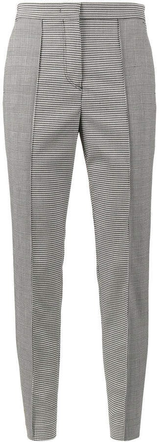 MSGM Prince Of Wales suit trousers