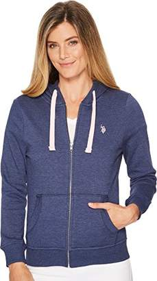U.S. Polo Assn. Women's Fleece Zip Up Hoodie