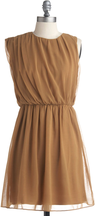 Butterscotch Latte Dress