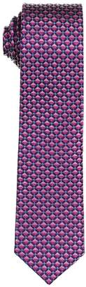 Isaac Mizrahi Geometric Silk Tie