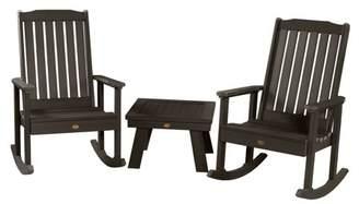 Adirondack highwood® highwood 2 Lehigh Rocking Chairs with 1 Side Table