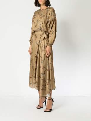 Preen by Thornton Bregazzi floral print maxi dress