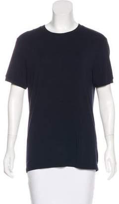 Armani Collezioni Crew Neck Short Sleeve Top