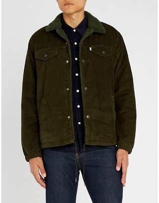 Levi's Sherpa corduroy trucker jacket